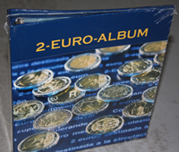 EUALB2EU4F/E NUMIS 2-Euro-Album Band 4 F/E coin album NUMIS, for 2-Euro