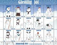 Færøerne - Julemærkeark 2018 - Julemærkeark 2018