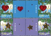 Åland - Julen 2018 - Gutterpair postfrisk