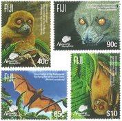 Fiji - Flagermus - Postfrisk sæt 4v