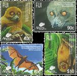 Îles Fidji - Chauves-souris - Série neuve 4v