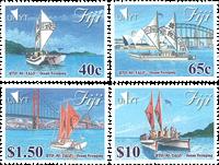 Fiji - Havsejlads - Postfrisk sæt 4v