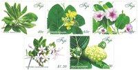 Fiji - Medicinske planter - Postfrisk sæt 5v