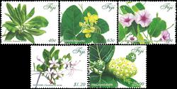 Îles Fidji - Plantes médicinales - Série neuve 5v