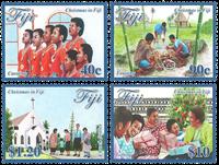 Îles Fidji - Noël 2016 - Série neuve 4v