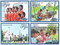 Îles Fidji - Christmas 2016 - Série neuve 4v