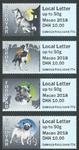 Îles Féroé - Exposition Macao 2018 - Série neuve 4 timbres distr. Martin Mörck/Petersen