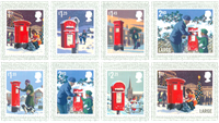 Great Britain - Christmas 2018 - Mint set 8v