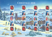 Grande-Bretagne - Noël 2018 - Feuillet neuf