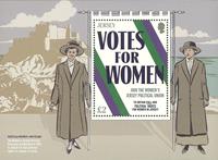 Jersey - Kvinders stemmeret - Postfrisk miniark