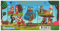 Netherlands - Television for children - Mint souvenir sheet