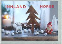 Norvège - Noël 2018 Arbre de Noël - Timbre neuf