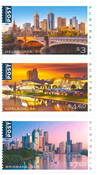 Australie - Villes - Série neuve 3v