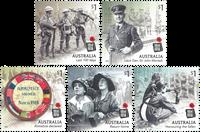 Australie - 1ère guerre mondiale - Série neuve 5v