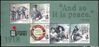Australie - 1ère guerre mondiale - Bloc-feuillet neuf