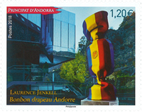 Andorra, Francais - L. Jenkell - Timbre neuf