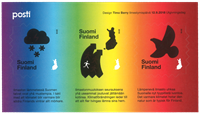 Finland - Klimaændring - Postfrisk miniark