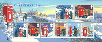 Grande-Bretagne - Noël 2018 - Bloc-feuillet neuf