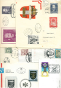 Austria - Duplicate lot with first day covers etc.