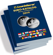Catalogo Euro 2019 - Monete e banconote - in inglese