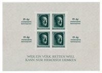 Duitse Rijk - 1937 - Michel Blok 9 - Postfris