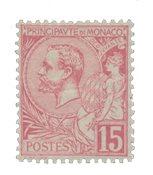 Monaco - 1891-1894 - YT 15, neuf