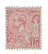 Monaco 1891-1894 - YT 15 - Postfrisk