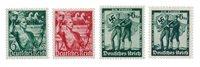 Empire Allemand - 1938 - Michel 660/661 en 662/663, neuf