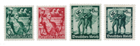 Empire Allemand - 1938 - Michel 660/661 en 662/663, neuf
