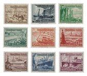 Empire Allemand - 1937 - Michel 651/659, neuf