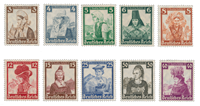 Empire Allemand - 1935 - Michel 588/597, neuf
