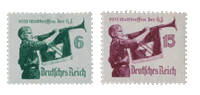 Empire Allemand - 1935 - Michel 584/585, neuf