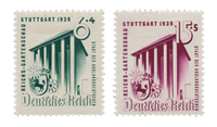 Tyske Rige - 1939 - Michel 692/693, Postfrisk