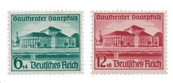 Empire Allemand - 1938 - Michel 673/674, neuf
