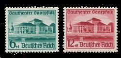 Empire Allemand - 1938 - Michel 673/674, neuf