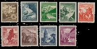 Empire Allemand - 1938 - Michel 675/683, neuf