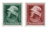 Tyske Rige - 1935 - Michel 569/570, Postfrisk