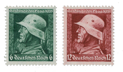 Empire Allemand - 1935 - Michel 569/570, neuf
