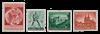 German Empire - 1940 - Michel 744/745 en 748/749, mint
