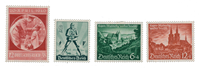 Empire Allemand - 1940 - Michel 744/745 en 748/749, neuf