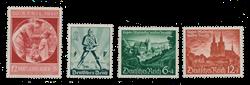 Empire Allemand - 1940 - Michel 744/745 en 748/749, neuf