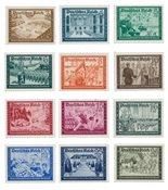Empire Allemand - 1939 - Michel 702/713, neuf