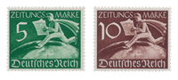 Empire Allemand - 1939 - Michel Z738/739, neuf