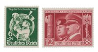 Empire Allemand - 1941 - Michel 762/763, neuf