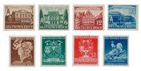 Empire Allemand - 1941 - Michel 764/767 en 768/771, neuf
