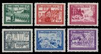 Tyske Rige - 1941 - Michel 773/778, Postfrisk