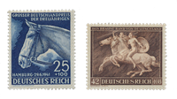 Empire Allemand - 1941 - Michel 779/780, neuf