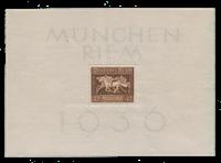 Tyske Rige - 1936 - Michel Blok 4, Postfrisk