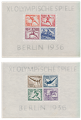 Tyske Rige - 1936 - Michel Blok 5/6, Postfrisk