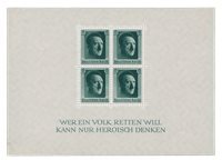 Duitse Rijk - 1937 - Michel Blok 7 - Postfris
